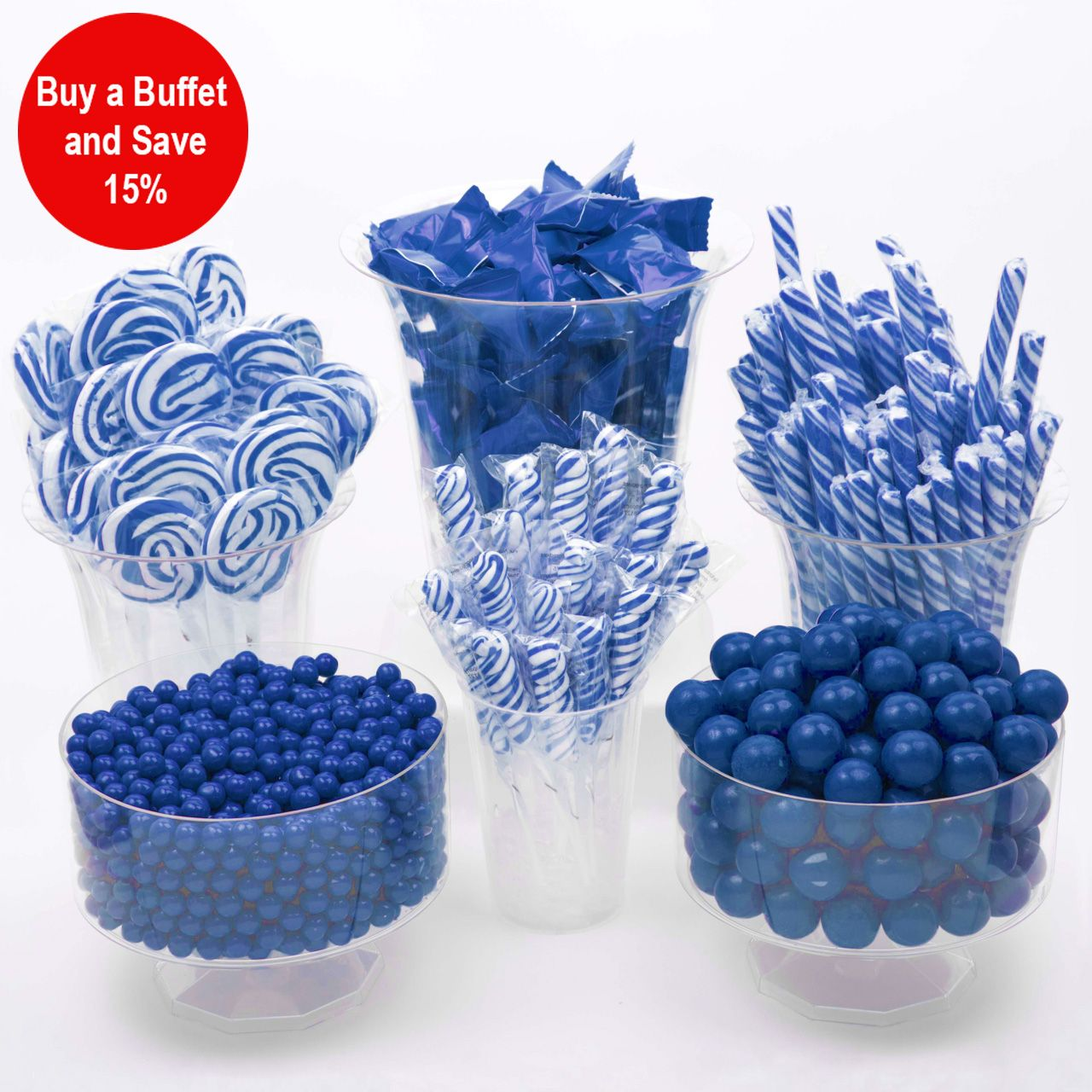 Awesome Blue Candy Buffet 686 Piece Party Supplies Canada Open A Interior Design Ideas Grebswwsoteloinfo