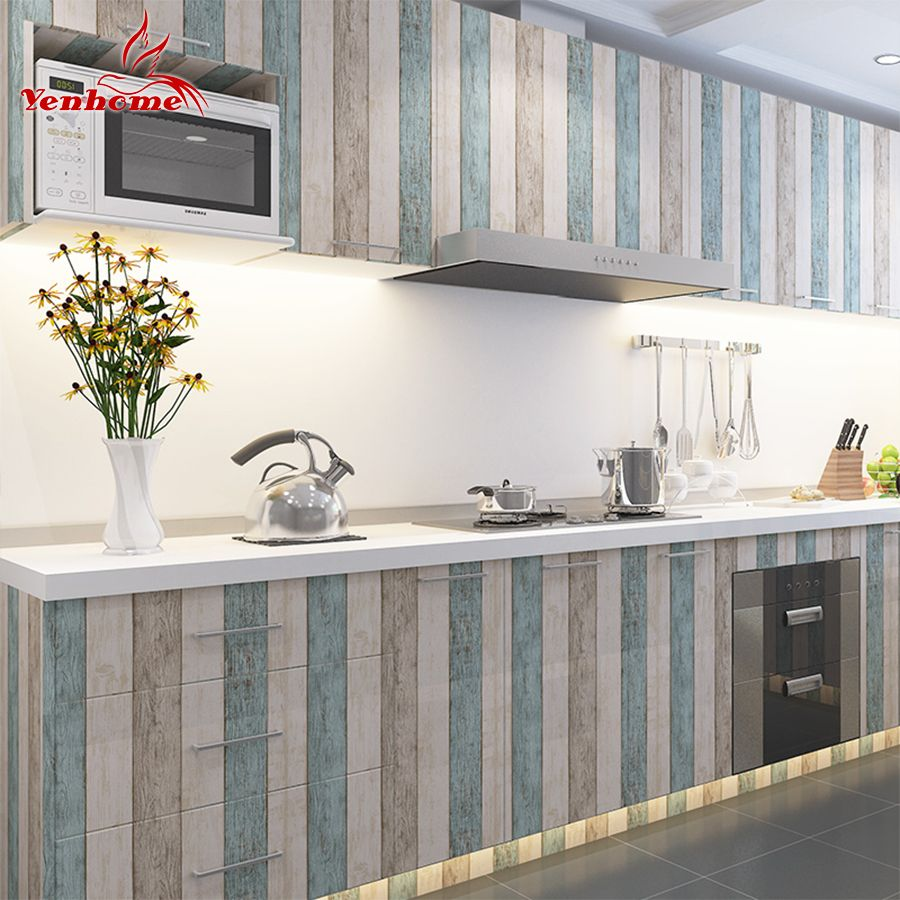 3m 5m 10m waterproof vinyl wall sticker roll furniture on wall stickers for kitchen id=47795