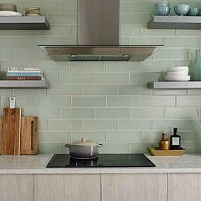 Fresh Kitchen Wall Subway Tile