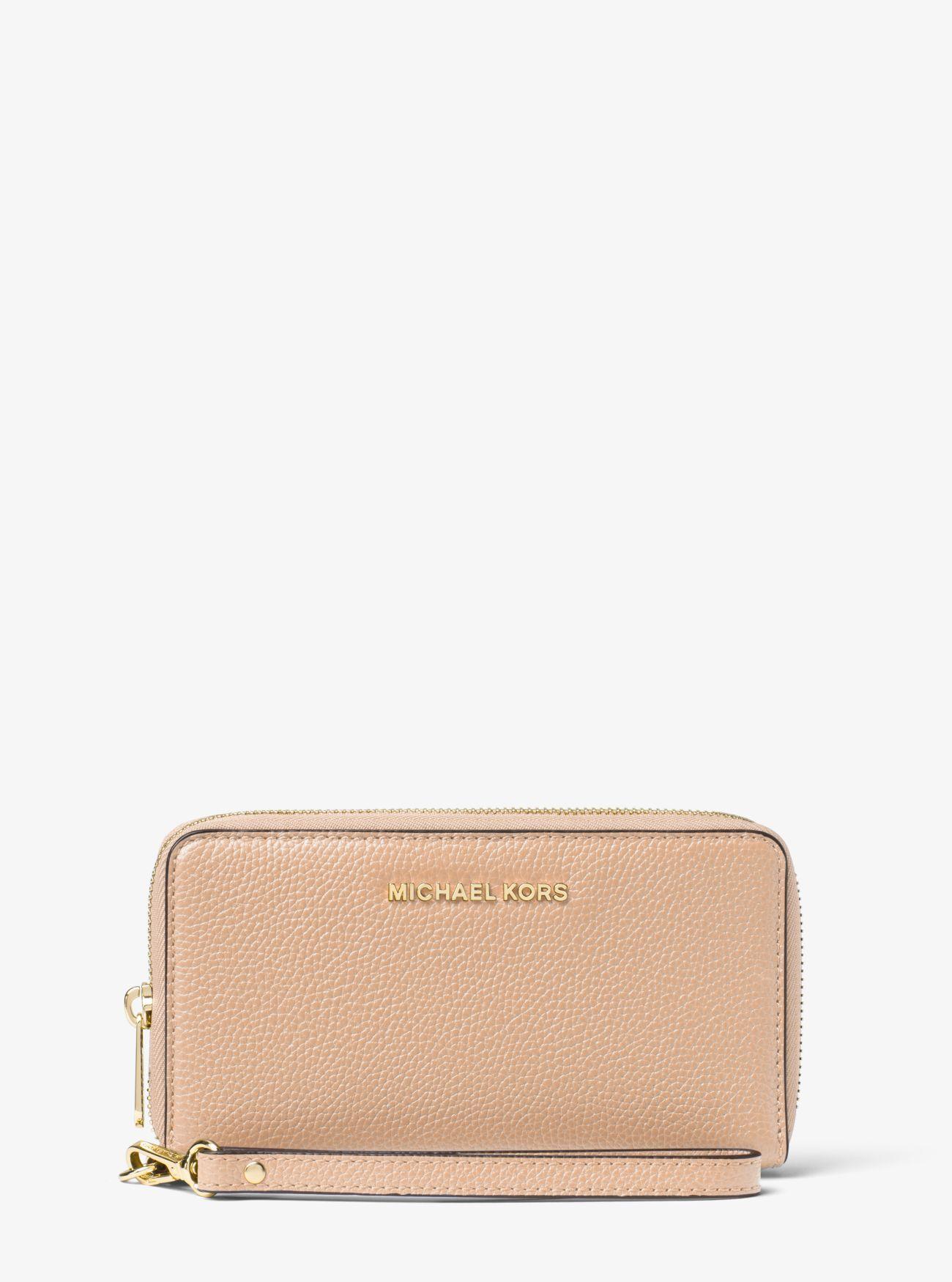 a463a3e403ef Mercer Large Leather Smartphone Wristlet | Wallets | Wristlet wallet ...