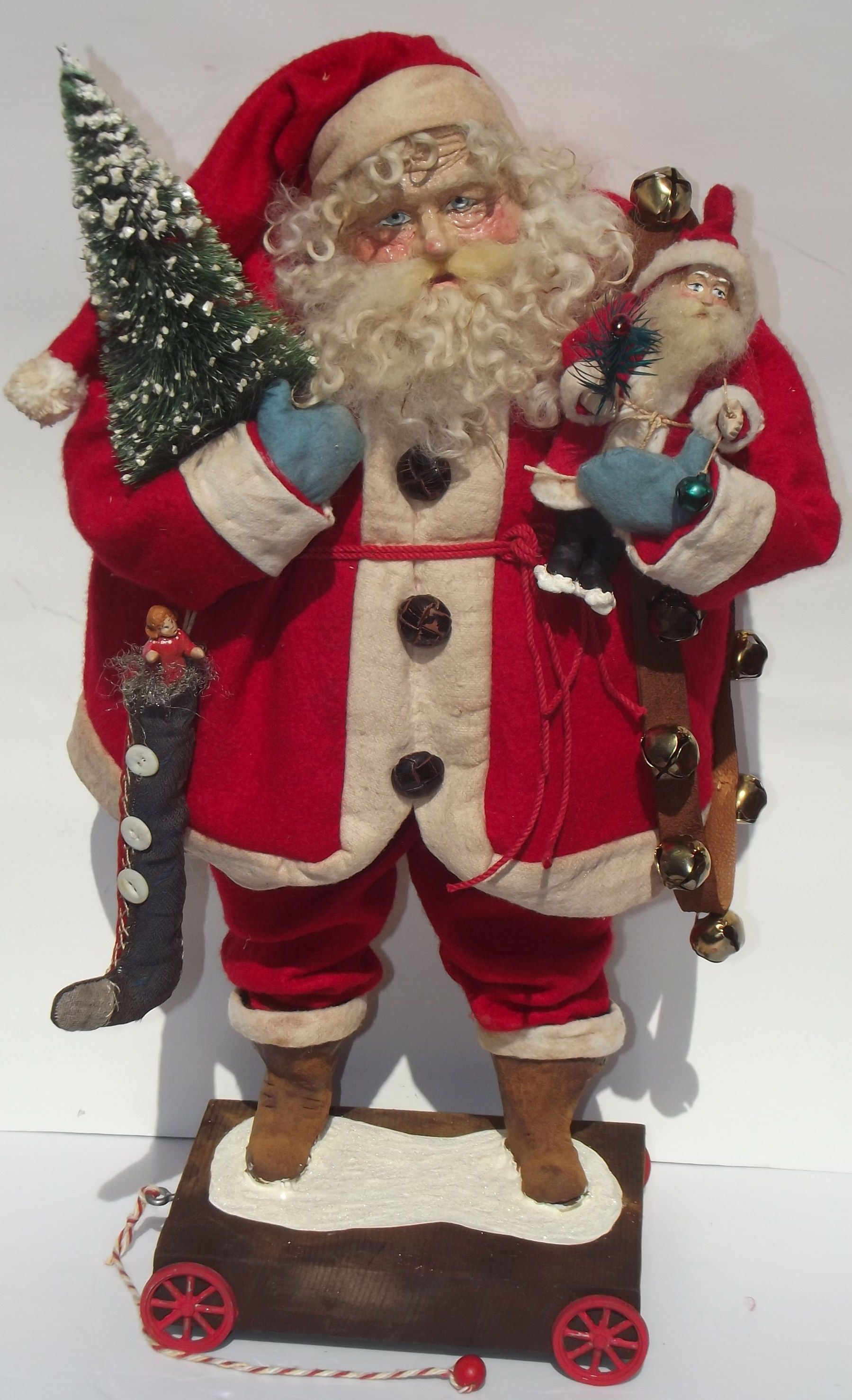 Handmade SanTa & Mini Candy Container Santa By Kim Sweet Kim s Klaus
