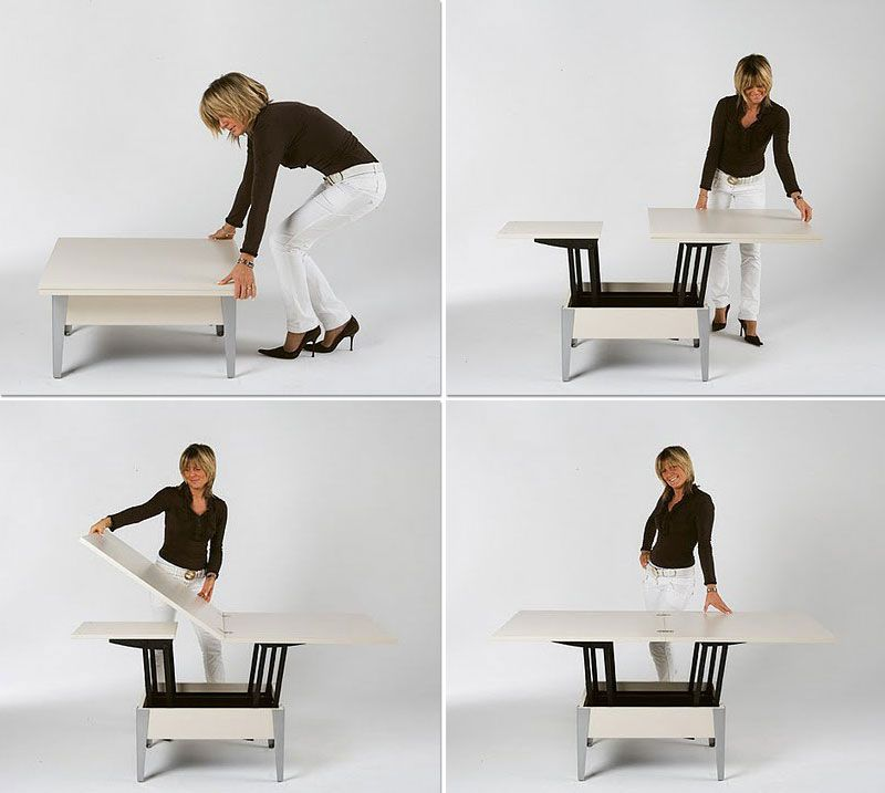 Superior Convertible Tables: Smart And Modern Solutions For Small Spaces Part 31