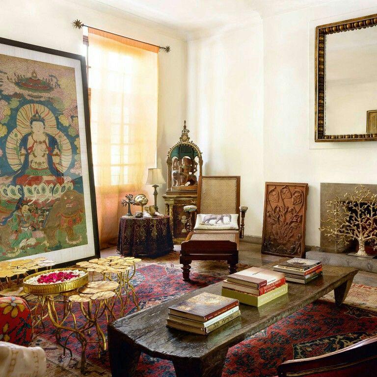 Michael Aram's Living Room  Inspiring Living Room Designs Pleasing Living Room Designs Indian Homes Decorating Inspiration