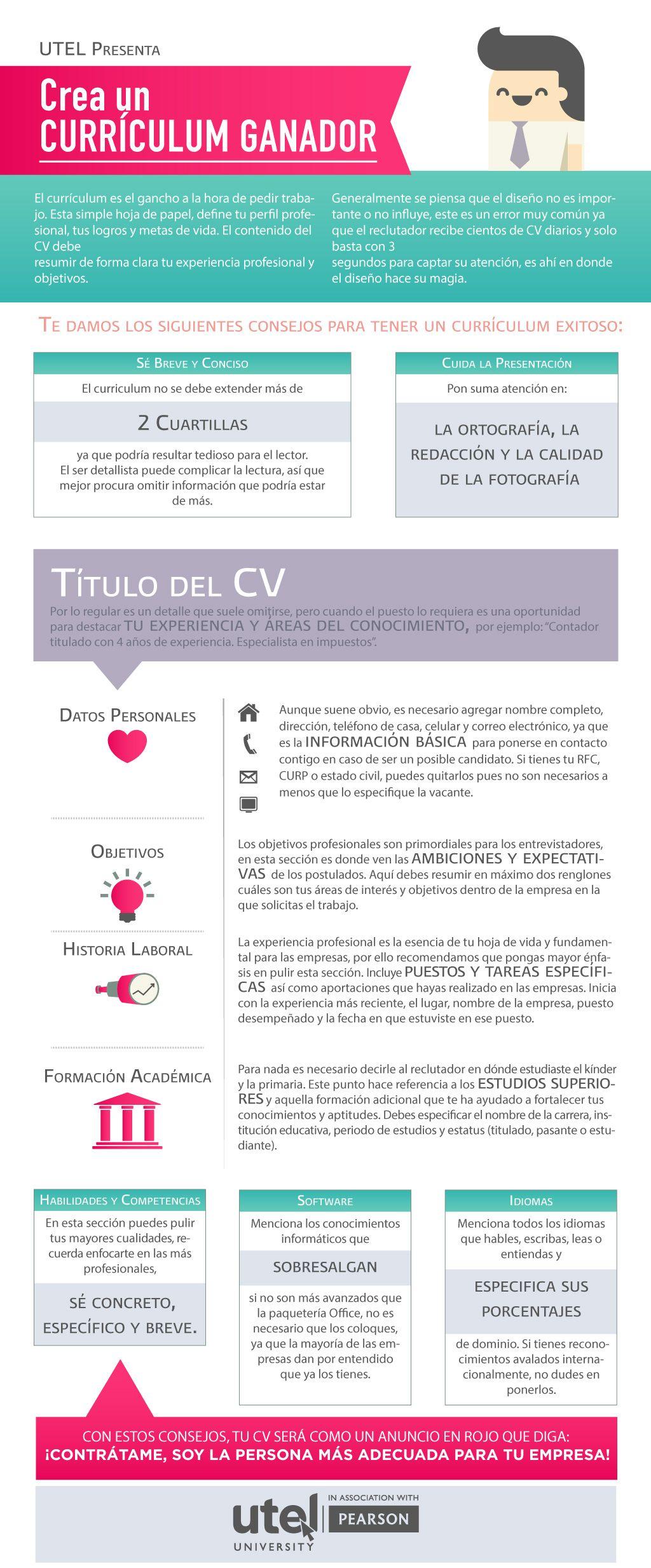 Crea un currículum ganador | Pinterest | La llave maestra, Llaves ...