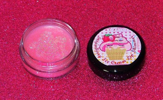 Strawberry Ice Cream Flavoured Pink Shimmer by GyspyTreasureBox