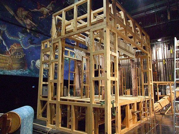 Faszination der Bühne im Theater Görlitz Aufbau und