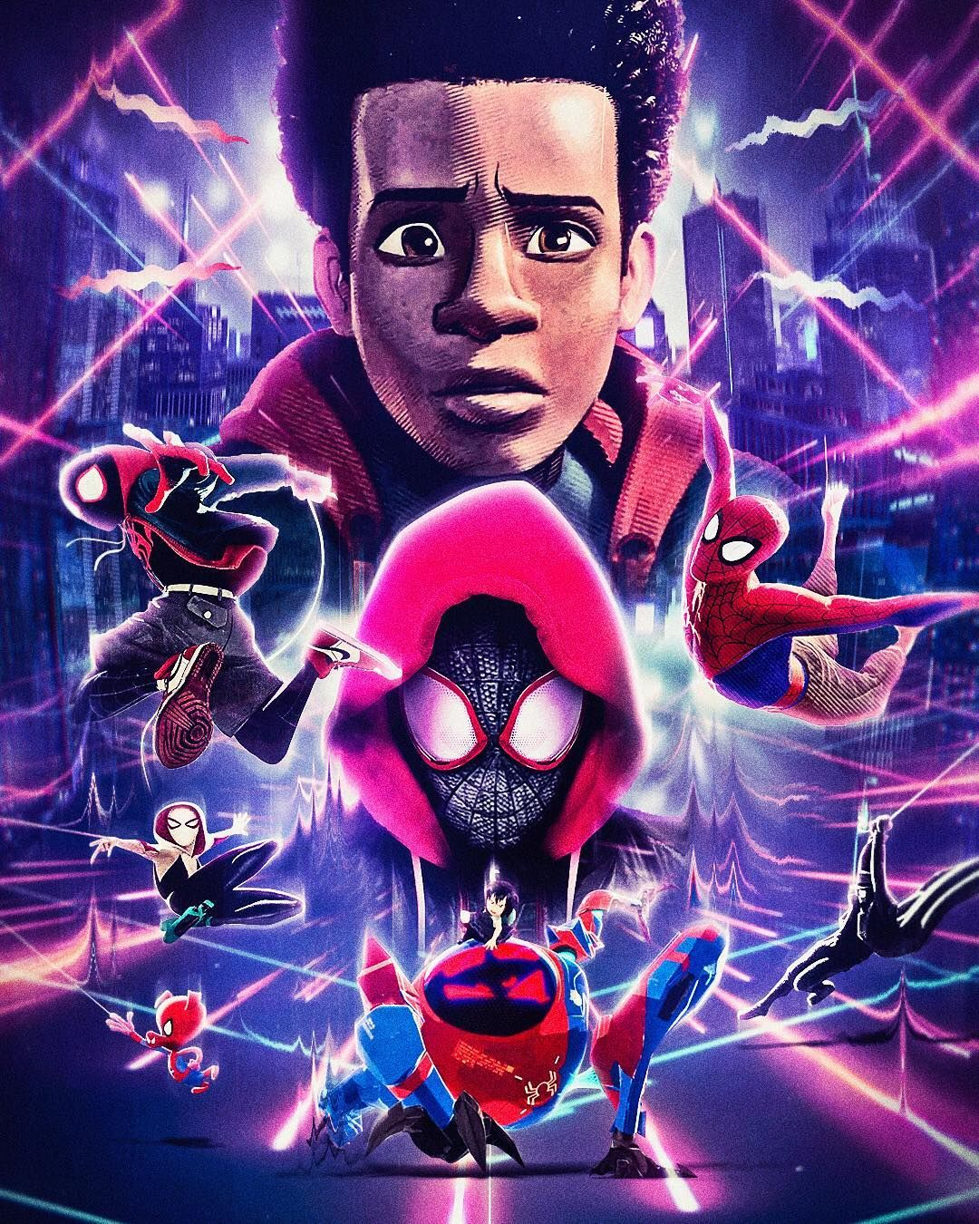 Freestylefriday Spider Man Into The Spider Verse By Masaolab Intothespiderverse Spiderman Spid Hombre Arana Comic Ultimo Hombre Arana Superheroes Marvel