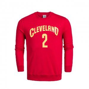 Cleveland Cavaliers Kyrie Irving #2 Red Sweater [I999]
