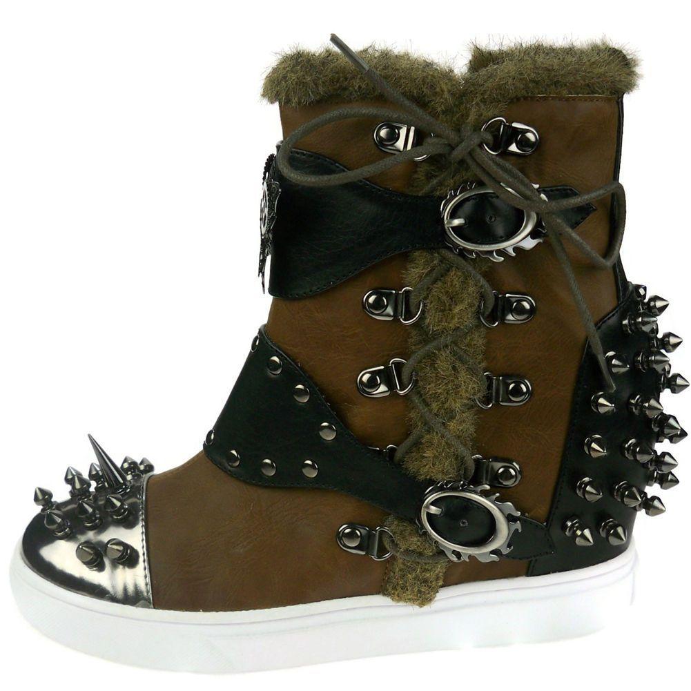 Hades Footwear Alternative Ankle Boot Phelan (Brown)