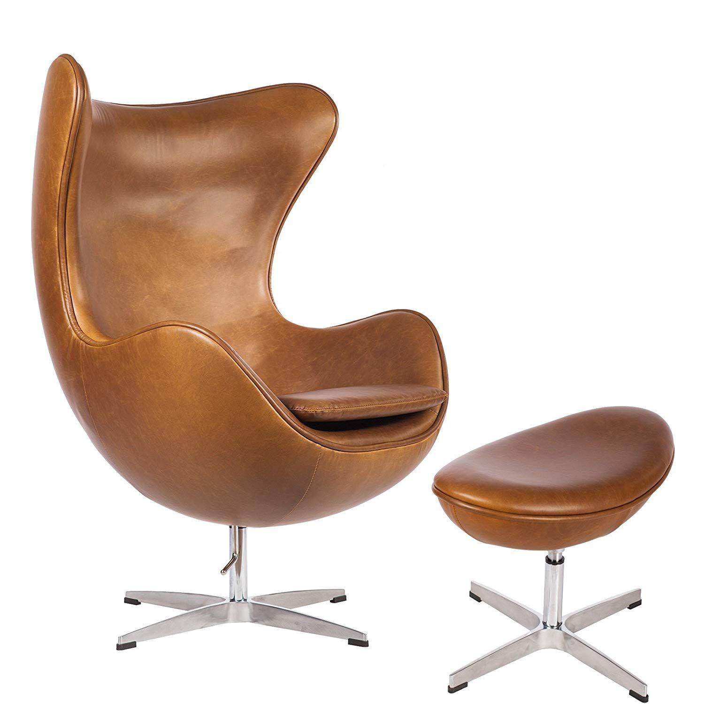 Mid Century Modern Classic Arne Jacobsen Style Egg Replica
