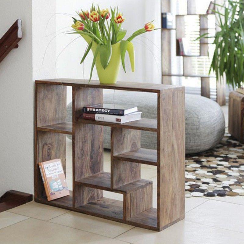 وحدة رفوف جانبية خشب Furniture Home Decor Decor