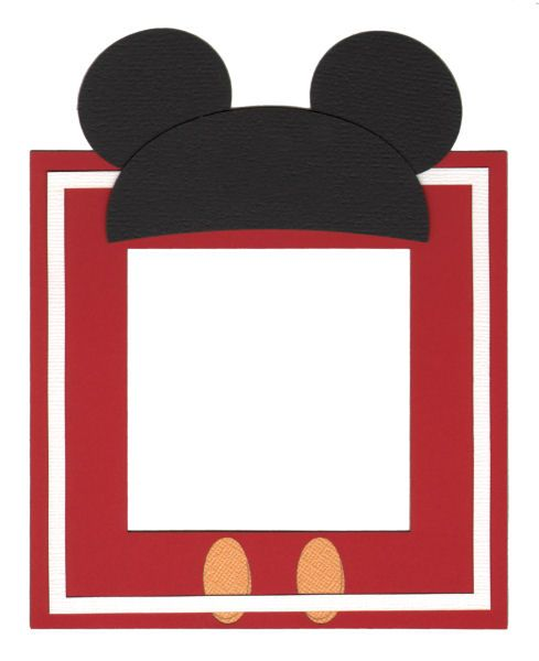 cute disney frame | Scrapbooking | Pinterest | Scrapbooking, Disney ...