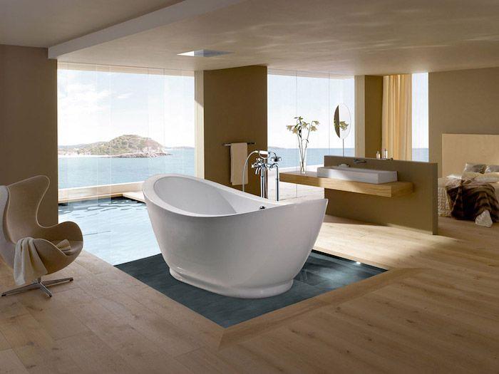 Freistehende badewanne: luxus und pure eleganz im badezimmer
