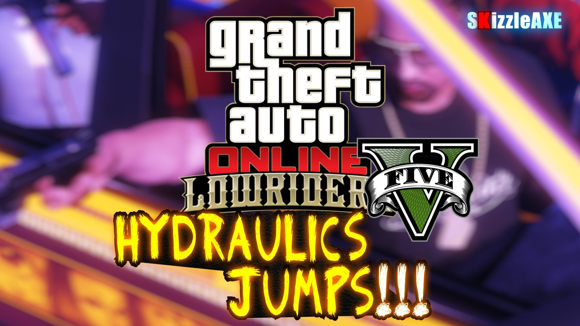 GTA 5 How To Put Hydraulics & Jump Your Lowrider Vehicles Cars in GTA line GTA V LOWRIDERS DLC Update