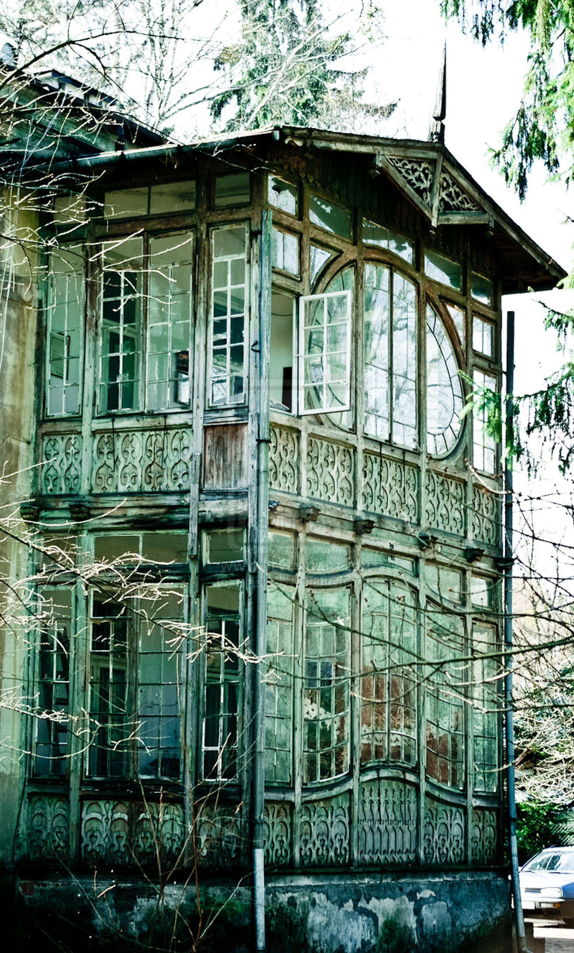 Greenhouse in Poland architecture Pinterest