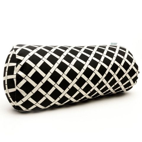 Black Bamboo Bolster Pillow | FREE SHIPPING |  Click Here to Buy