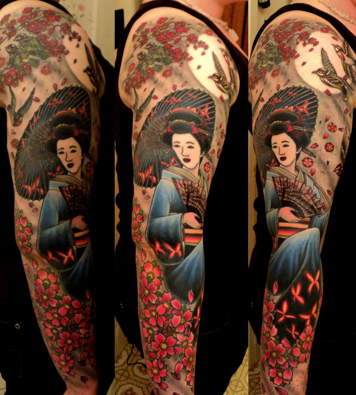Japanese Tattoo Japanese Traditional Cherry Blossom