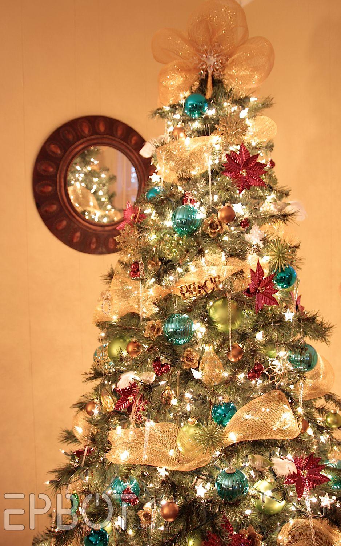 Christmas tree decorations 2014 with mesh - Christmas Trees Decorated With Mesh Pictures Of Christmas Trees Decorated With Mesh