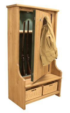 Household Hidden Weapon Storage (32 Photos) | Bench Seat, Guns And Bench