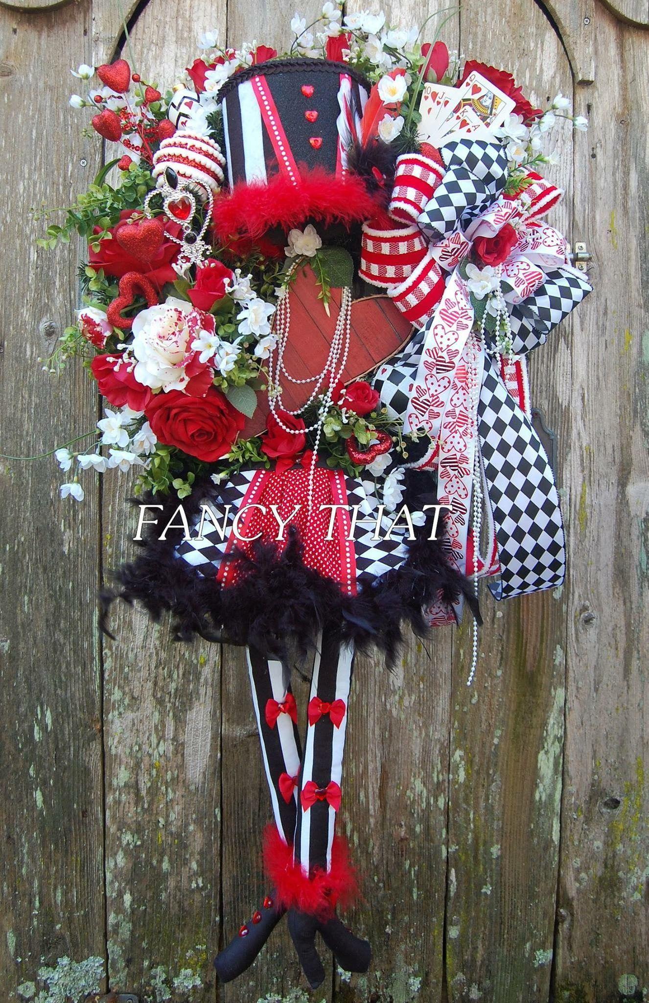 Beautiful Valentine Wreaths On Pinterest