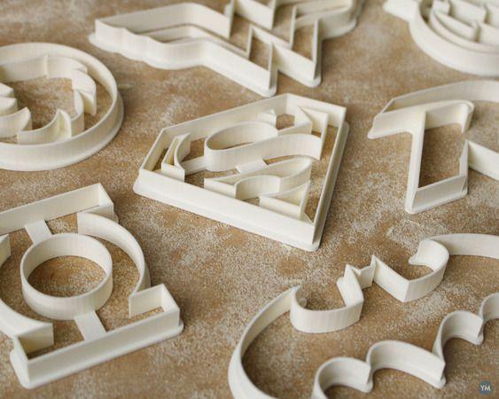 Tessa's Weekly Picks - 3D Printed Cookie Cutters - LEO Lane
