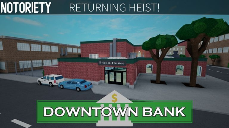 First Person Shooter New Roblox Notoriety New Heist Roblox Roblox First Person Shooter Life Improvement