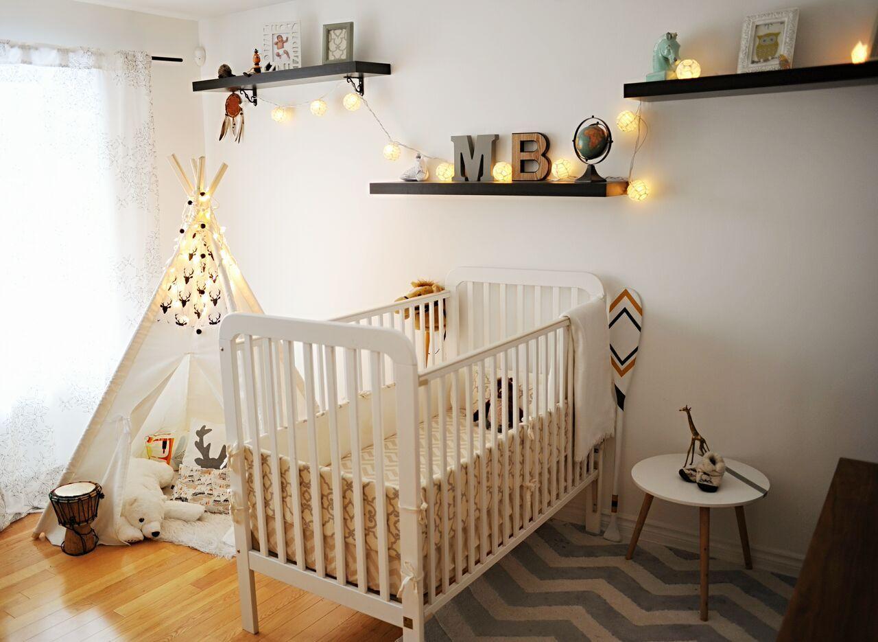 Avant Apres Une Chambre De Bebe Vintage Boheme Avec Un Tipi