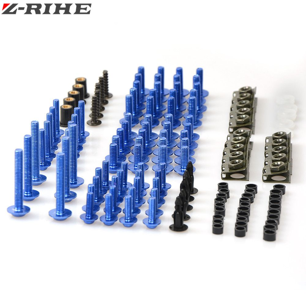 Promo Motorcycle Fairing Body Bolts Needle Speed Clips Screw