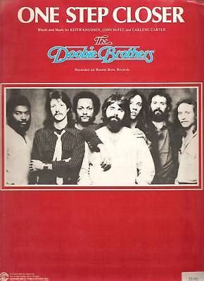 Sheet Music 1980 One Step Closer The Doobie Brothers 87