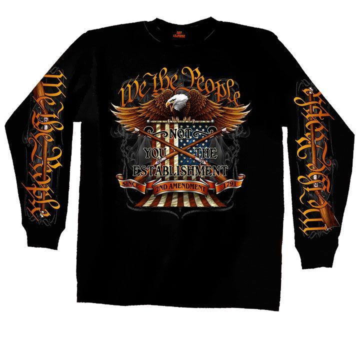 Long Sleeve Motorcycle Shirt