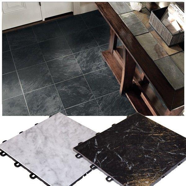 Interlocking Laminate Tile Flooring