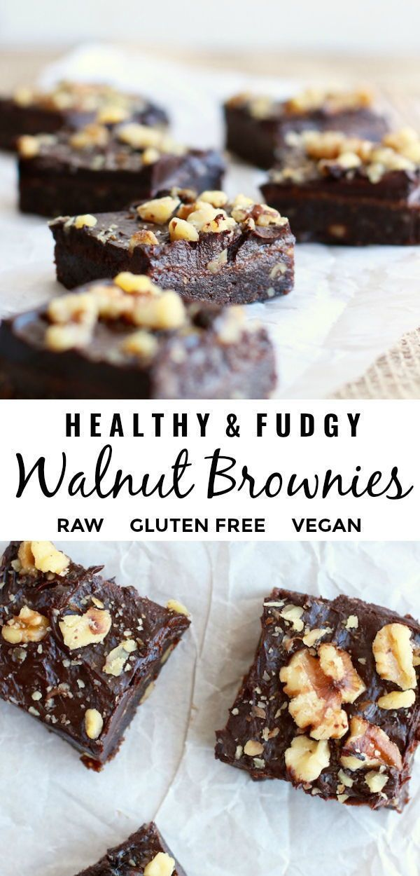 This delicious and easy to make homemade walnut brownie recipe is fudgy, naturally sweet, with no r