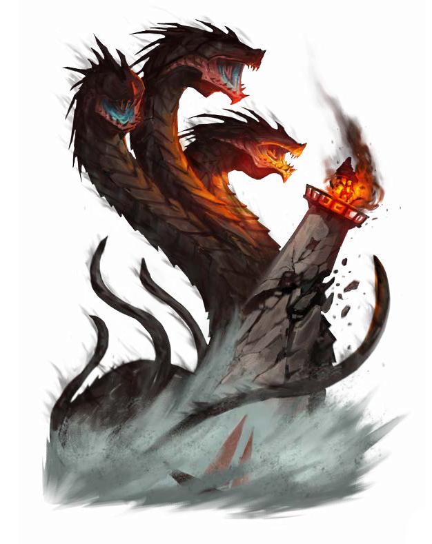 Cerberus Worm Pathfinder Fantasy Creatures Art Fantasy Demon Fantasy Creatures