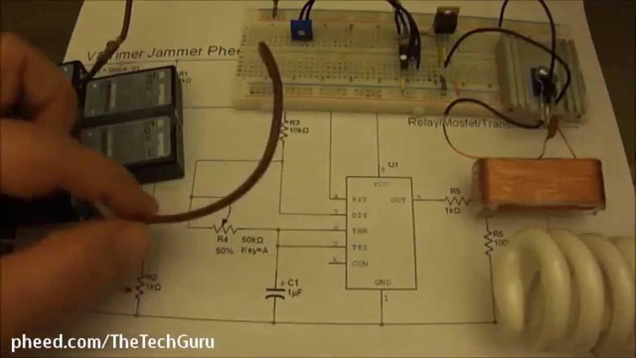 Jammer Schematic Diagram And Circuits Further Simple Am Radio Circuit