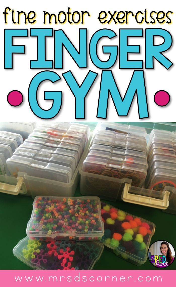 Finger Gym Daily Activities For Fine Motor Exercises