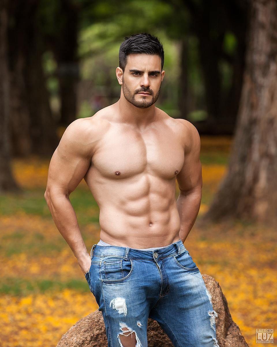 """Junior Haikel """" Shirtless"""