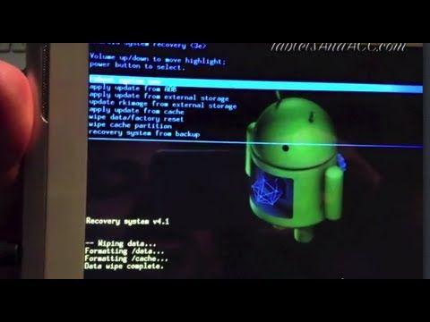 Hard Reset Nextbook Android Tablet | Gravez