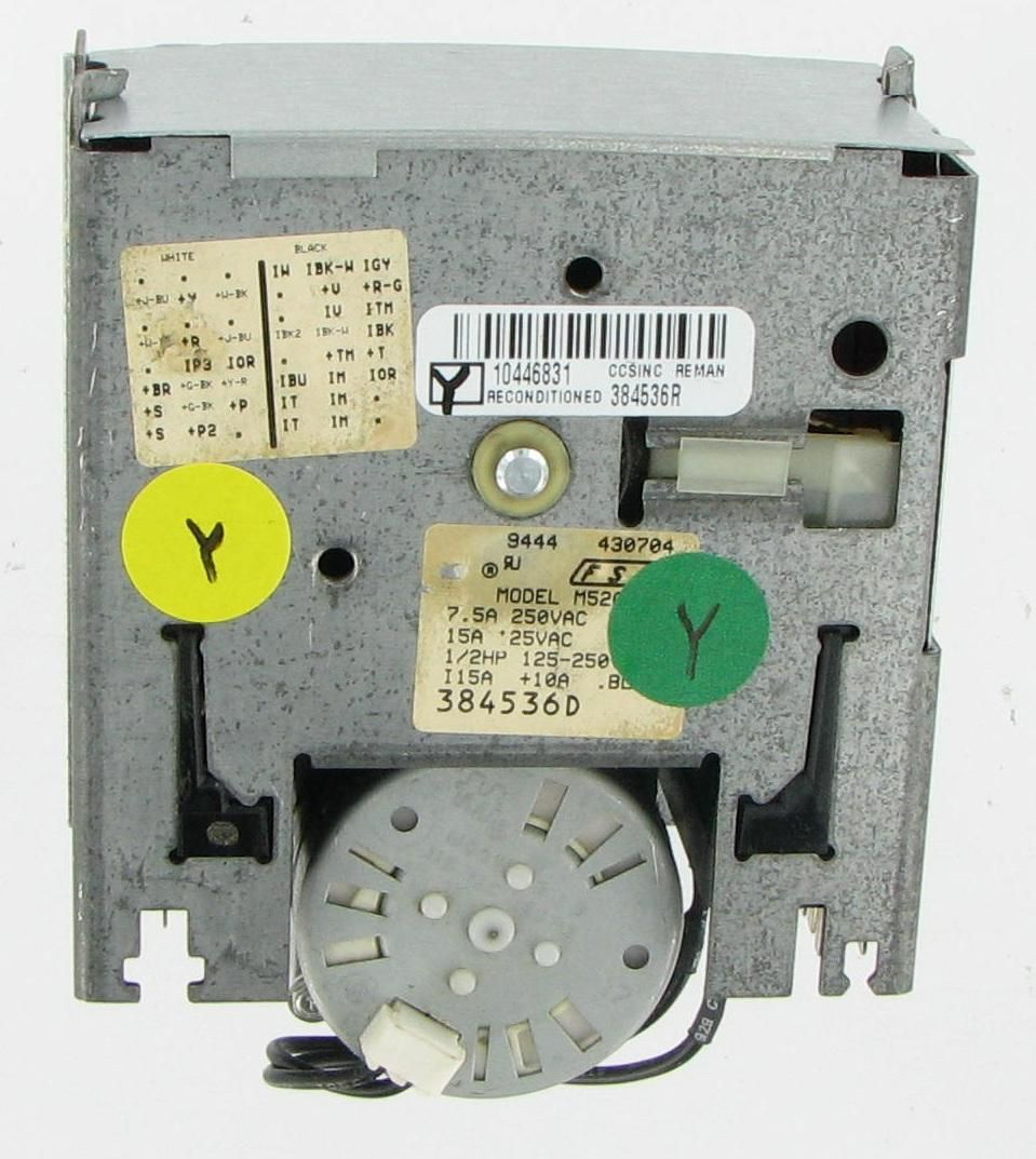 Whirlpool  384536 Laundry Washer Timer Board