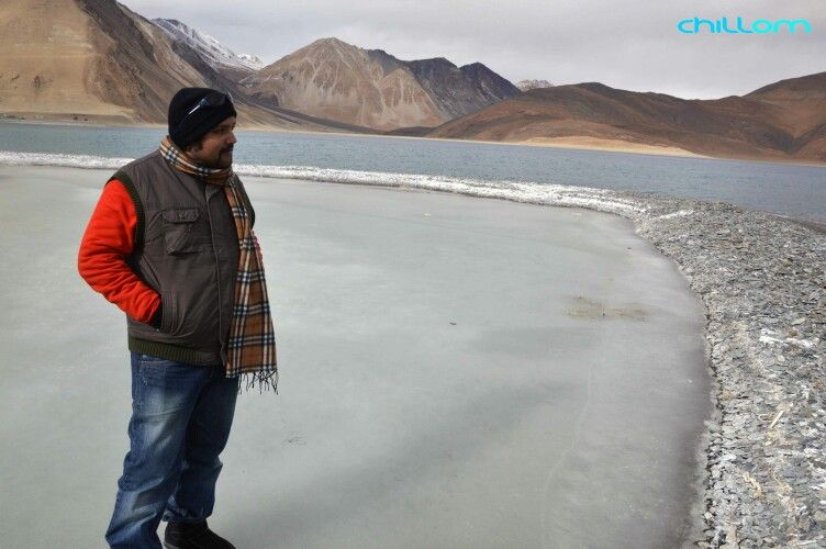 Trippin On The Frozen Pan Gong Tso Lake In Leh Ladakh China