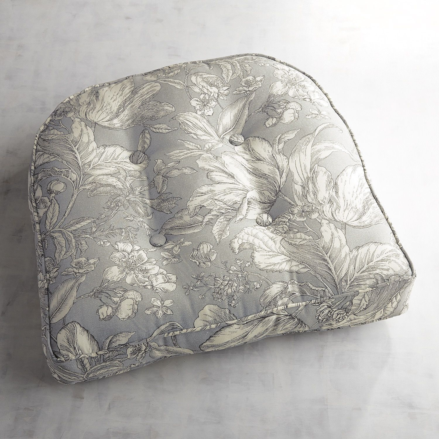 large contour chair cushion in tulip toile products