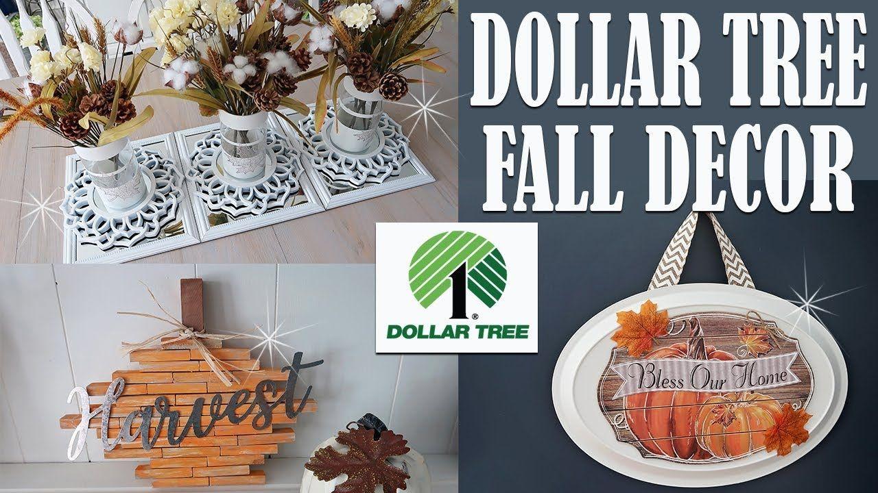 DOLLAR TREE DIY FALL DECOR 2018 YouTube Dollar tree