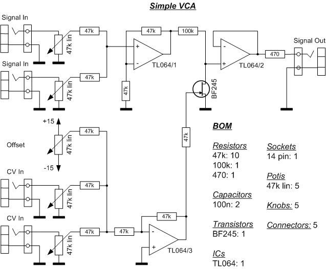 vca schematic google search synthesizers pinterest rh pinterest com