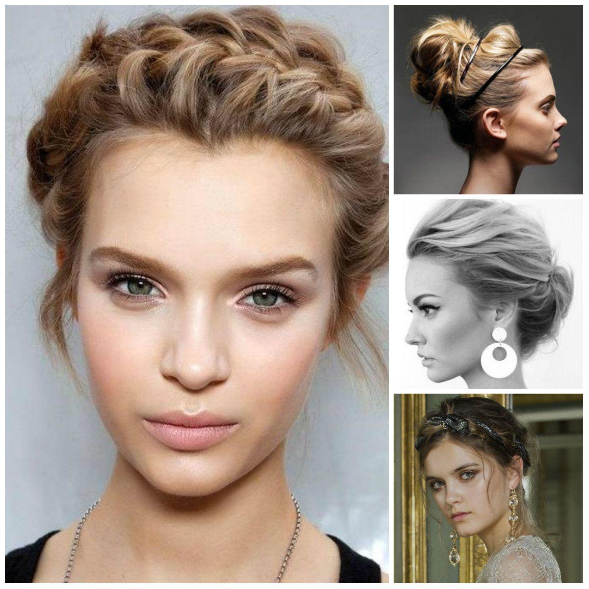 Easy hairstyles medium thin hair hair pinterest casual updo