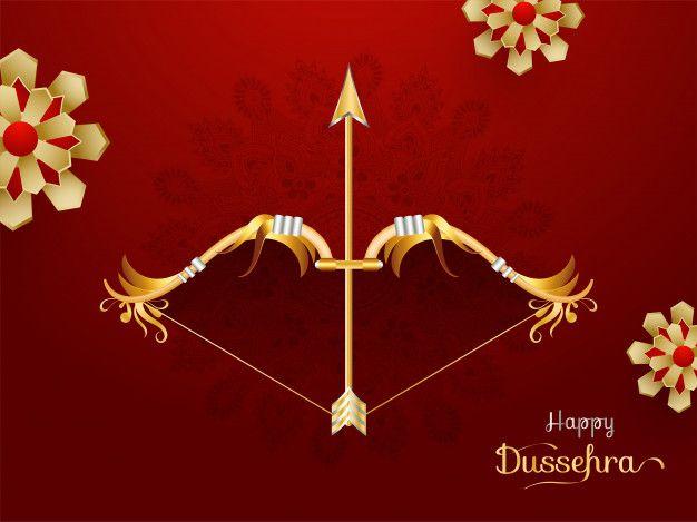 Happy Dussehra Background.