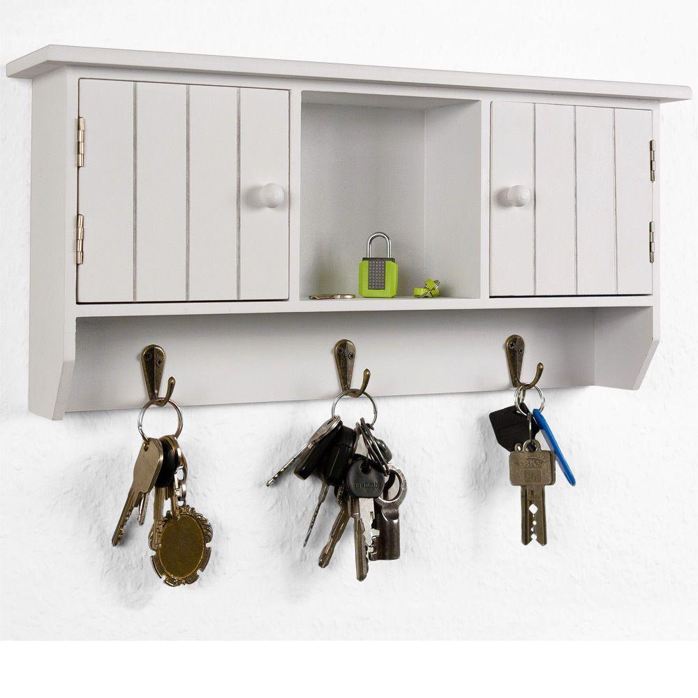 Details zu Schlüsselkasten Holz Schlüsselbrett Schlüsselboard