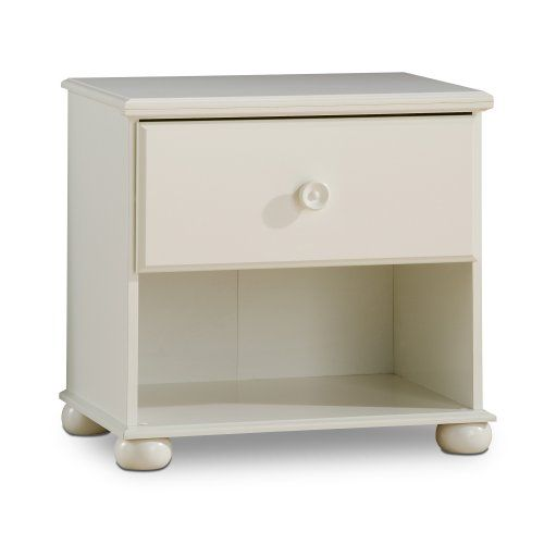 South Shore Furniture Sand Castle Collection Night Table Pure