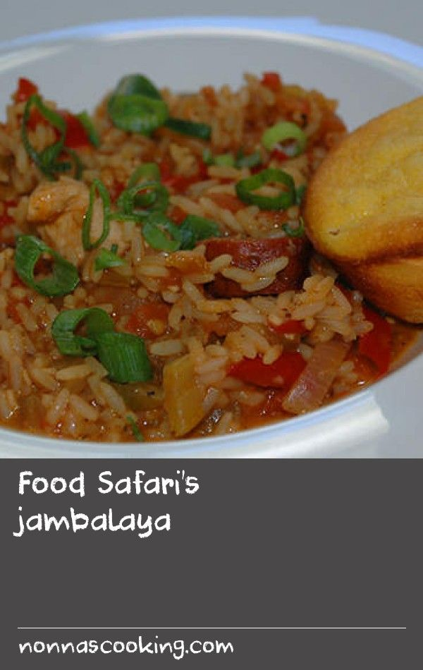 Food safaris jambalaya recipe jambalaya main meals and cornbread forumfinder Choice Image
