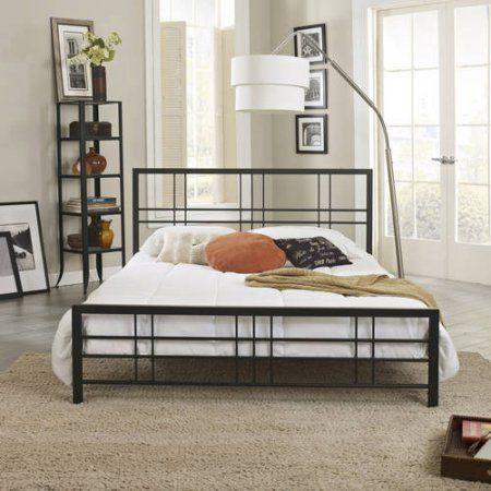 Premier Morgan Metal Platform Bed With Bonus Base Wooden Slat