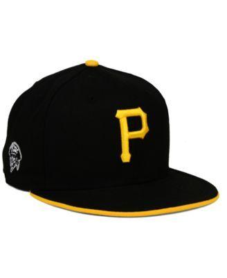 sale uk huge discount skate shoes New Era Pittsburgh Pirates Coop Flip 9FIFTY Snapback Cap - Black ...