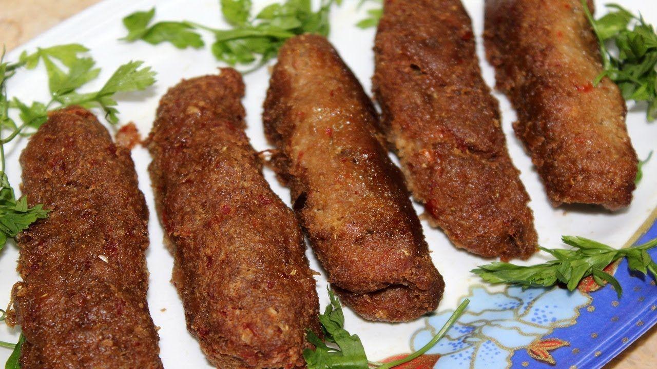 طريقة الكفتة بالشوفان والفلفل المشوي Food Sausage Meat